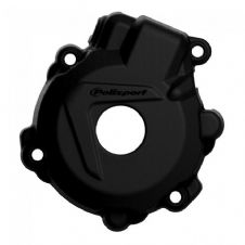IGNITION COVER PROTECTOR KTM/HUSKY EXCF250 14-16, EXCF350 12-16, FE250/350 14-16 BLACK